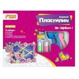 пластилин Color Puppy Набор для декорирования фоторамки с жидким пластилином, 12 цветов, пистолет 95333