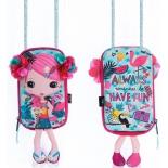 сумка Okiedog 87012 куколка Цветочек (10х19х8 см)