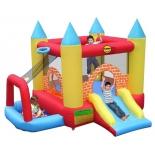 батут детский Happy Hop Игровой центр 4 в 1 Мини Замок 9114