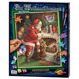 картина по номерам Schipper Санта Клаус у камина 40х50 см (9300696)