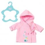 одежда для кукол Банный халат Zapf Creation Baby Born 824665