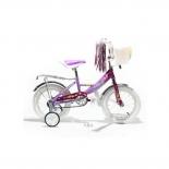 велосипед Mars 12 С1201 Girl (с корзиной), сиреневый