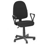 компьютерное кресло Мебельторг Olss Престиж В-14, черное