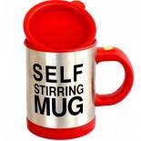 миксер кухонный Кружка - миксер Self Stirring Mug, красный