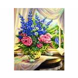картина по номерам Раскраска Schipper Цветы на столе 40х50 см