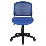 компьютерное кресло Бюрократ(CH-296/BL/15-10)темно-синий