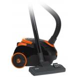Пылесос Mystery MVC-1122, черный/оранжевый