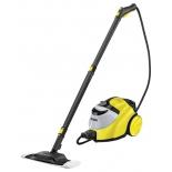 Пароочиститель-отпариватель Karcher SC 5, желтый/черный