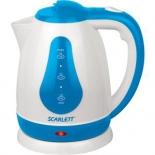 чайник электрический Scarlett SC-EK18P29 (1.8 л) белый/голубой
