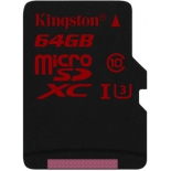 карта памяти Kingston SDCA3/64GBSP (64Gb, class10)