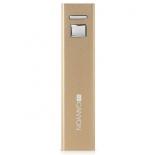 аксессуар для телефона Мобильный аккумулятор Canyon CNE-CSPB26GO, 2600 mAh, золотистый
