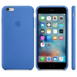 чехол iphone Apple для Apple iPhone 6S Plus MM6E2ZM/A, синий