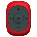медиаплеер Digma C2L 4Gb, красный/FM/clip