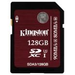 карта памяти Kingston SDA3/128GB, без адаптера