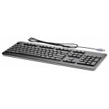 клавиатура HP QY774AA  PS/2, чёрная