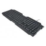 клавиатура Oklick 192M USB, черная