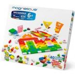 развивающая игра Magneticus Мозаика, 654 элемента, 11 цветов, 40 этюдов, 6+