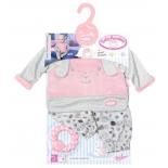 одежда для кукол Zapf Creation Baby Annabell Пижамка Спокойной ночи 700-822