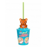 поилка Звуковая соломинка Sip n'Sound 16003-3 тигр