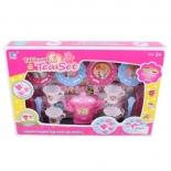 игрушки для девочек Набор посуды Наша Игрушка для чаепития 14 предметов (3649B)