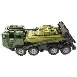 игрушки для мальчиков Набор техники Нордпласт Военный тягач Щит с танком (258)