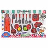 Игрушки для девочек набор Наша Игрушка Хозяйка 14 предметов (6685), купить за 1 000руб.
