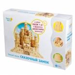 набор для лепки Умный песок Genio Kids Сказочный замок
