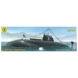 игрушки для мальчиков Сборная модель Моделист Подводная лодка проекта 671РТМК