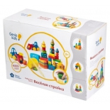 набор для лепки Genio Kids Веселая стройка TA1040 (тесто-пластилин)