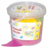товар для детского творчества Умный песок Genio Kids 1 кг, розовый