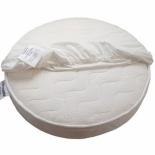 простыня Облачко круглая, бязь (75х75 см) белая