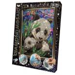 набор для вышивания малый Danko Toys Данко-Тойс Diamond Mosaic Панды (DM-02-10)