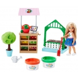 игрушки для девочек Barbie  Овощной сад Челси (FRH75)