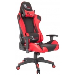 игровое компьютерное кресло College CLG-801LXH (XH-8062), черное/красное