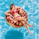 надувной круг Intex 56262 Шоколадный пончик с орехами