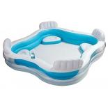 бассейн надувной Intex Swim Center Family Lounge 56475 (229х229х66см)