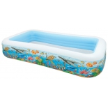 бассейн надувной Intex Swim Center 58485 Tropical Reef (305х183х56см)