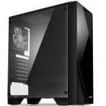 корпус компьютерный Zalman S1 без БП черный