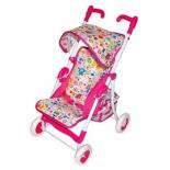 транспорт для кукол Прогулочная коляска Mary Poppins Фантазия малиновая 67323