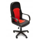Компьютерное кресло TetChair Parma кож/зам, черный/красный, 36-6/36-161, купить за 4 690руб.