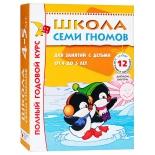 книга Мозаика-Синтез Школа Семи Гномов 4-5 лет (Полный годовой курс 12 книг) 5477-8