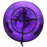 тюбинг Санки надувные RT Созвездие фиолетовое 118 см
