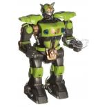робот-конструктор Наша Игрушка Боец, 32 см, свет, звук, 9838-1A