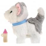 игрушка мягкая интерактивная My friends Котенок Джесси с бутылочкой