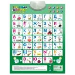 детский плакат электронный Знаток Говорящая Азбука 8 режимов (70082/PL08NEWru)