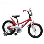 двухколесный велосипед RIDE 16 красный