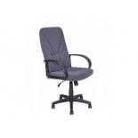 компьютерное кресло Алвест  AV 101 PL 727 МК мозес, ткань 415, серая с черной ниткой