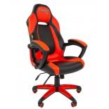 игровое компьютерное кресло Chairman game 20 (7025816)  черный/красный