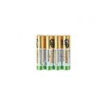 батарейка GP Super Alkaline 24А ААA - 4 шт. в пленке (24ARS-2SB4)