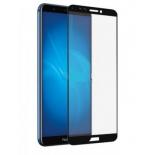защитное стекло для смартфона Red Line Huawei Y6 2019 Full screen FULL GLUE черное